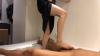 出張ローション手コキ隠し撮り・足コキオプション【木内(20歳)3回目】