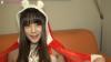 【特典完全主観&高画質】猫耳サンタの超絶美女、あやちゃん 「クリスマスプレゼントはわたしです♡」